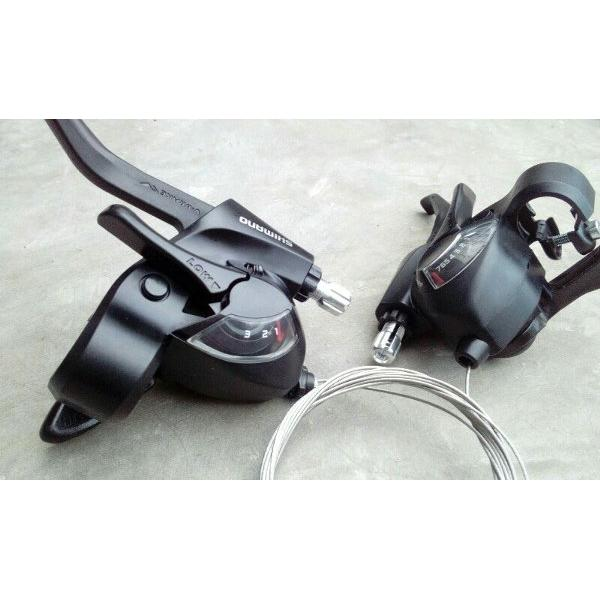 harga Brifter Brake Shifter  Shimano 7 Speed EF41 elevenia.co.id