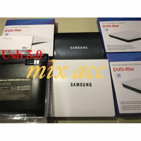 harga DVD-RW CD-RW external SAMSUNG USB 3.0 Combo Drive Burner Player Slim elevenia.co.id