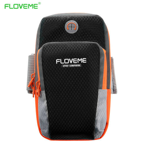 harga [globalbuy] FLOVEME Sports Armband Pouch For iPhone 7 Plus 6 6s Plus 5S SE Running Arm Ban/4517639 elevenia.co.id