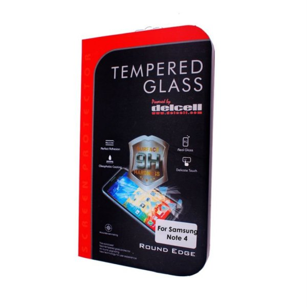 harga Delcell Tempered Glass for Samsung Galaxy Note 4 elevenia.co.id