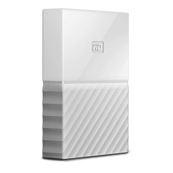 harga WD My Passport New Portable Hard Drive 1TB - Putih elevenia.co.id
