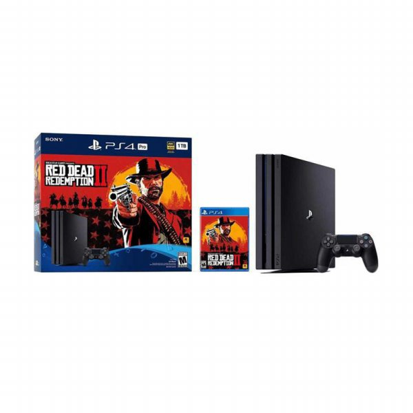 harga SONY PlayStation 4 Pro 1TB Red Dead Redemption 2 Bundle Pack elevenia.co.id