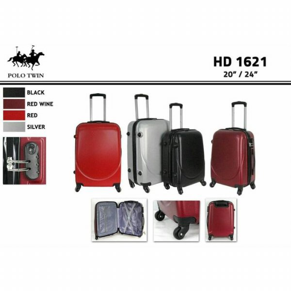 harga koper fiber size 20inc /travel bag size 20inc/ koper polo twin roda 4 elevenia.co.id