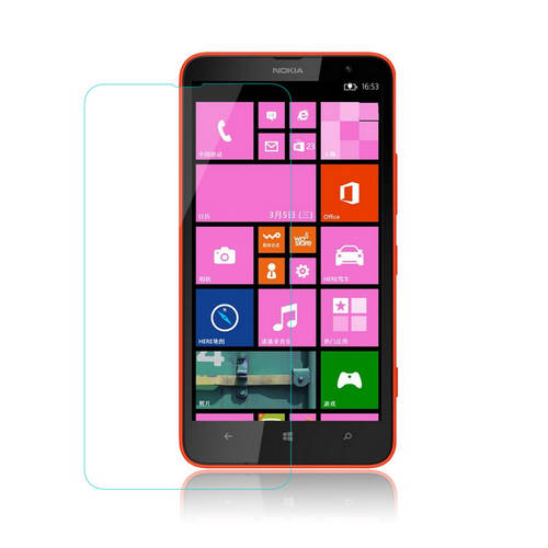 [globalbuy] 0.33mm One Front one Back Tempered Glass For NOKIA Lumia 1320 2.5D Screen Prot/3264193