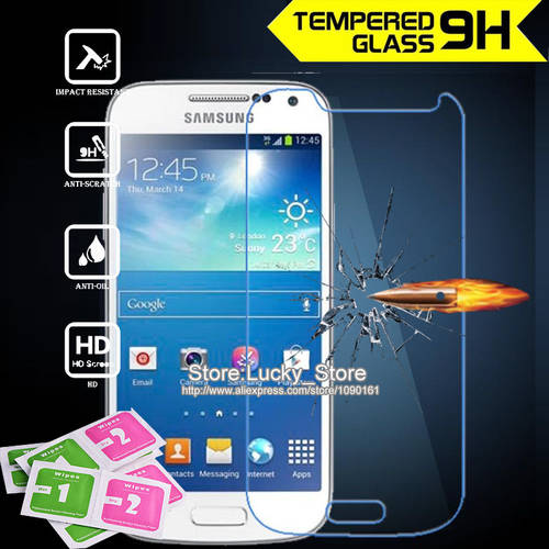 [globalbuy] 1pcs glass screen protector film for Samsung Galaxy S4 MINI i9190 polarizer pr/4512047