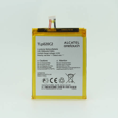 [globalbuy] Original TCL Alcatel Battery TLp020C2 For Alcatel one touch Idol X 6040D 6040X/4511256