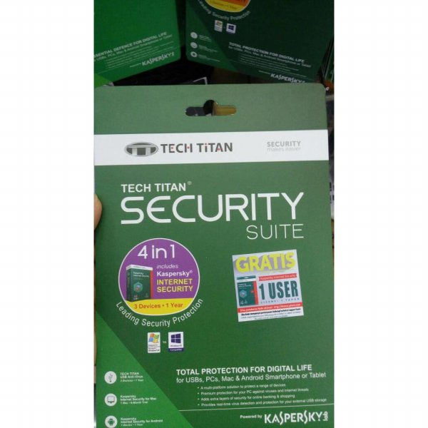 harga Siap Kirim Kaspersky Internet Security 2017 - 3 User/Pc Tech Titan elevenia.co.id