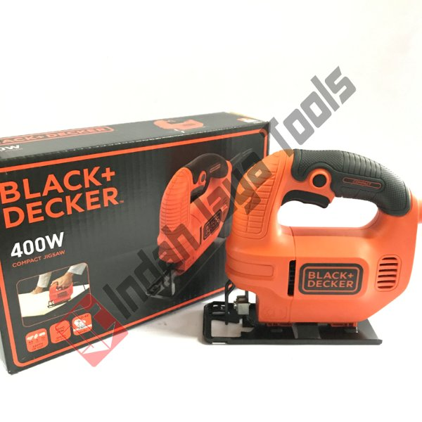 harga Mesin Jigsaw SINGLE Speed BLACK  DECKER KS501 Compact Jig saw 400 W elevenia.co.id
