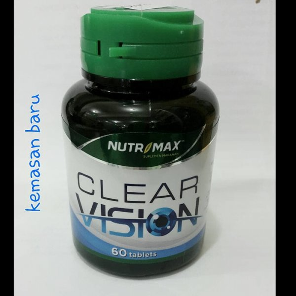 harga NUTRIMAX CLEAR VISION With eyebright Herb (60 tablets) elevenia.co.id