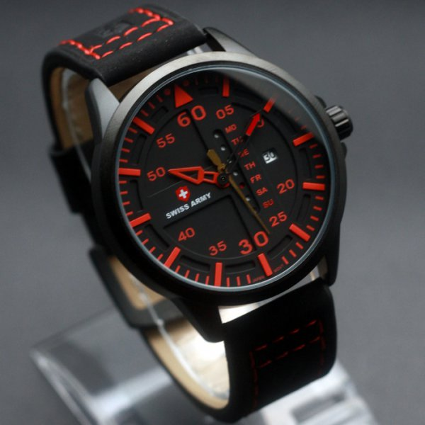 harga Jam Tangan Swiss Army SA 6062 Black Red Jam Original Branded Murah elevenia.co.id