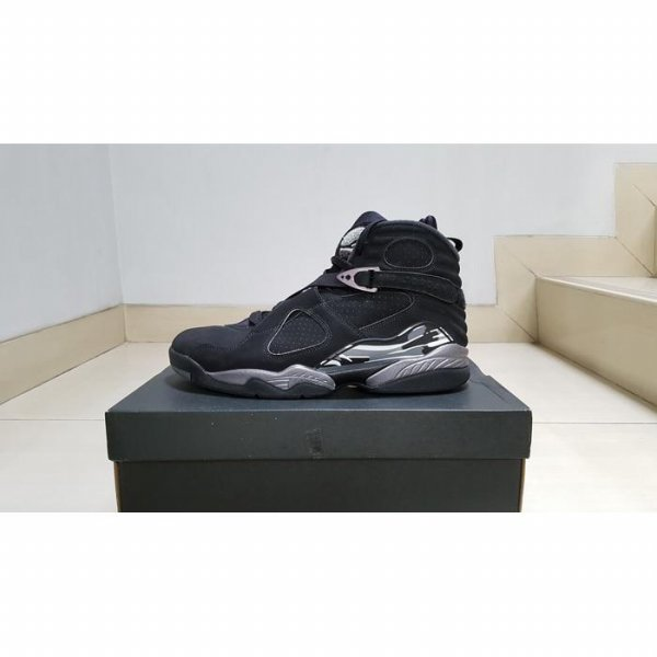 harga Nike Air Jordan 8 Retro Chrome Black (100% Authentic Original) VNDS elevenia.co.id