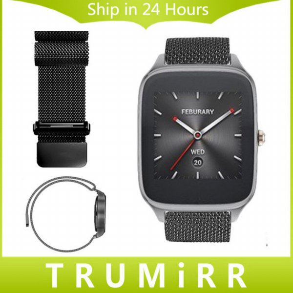 harga Asus zenwatch 2 / Samsung Gear S3 Frontier/Classic 22mm Milanese strap elevenia.co.id