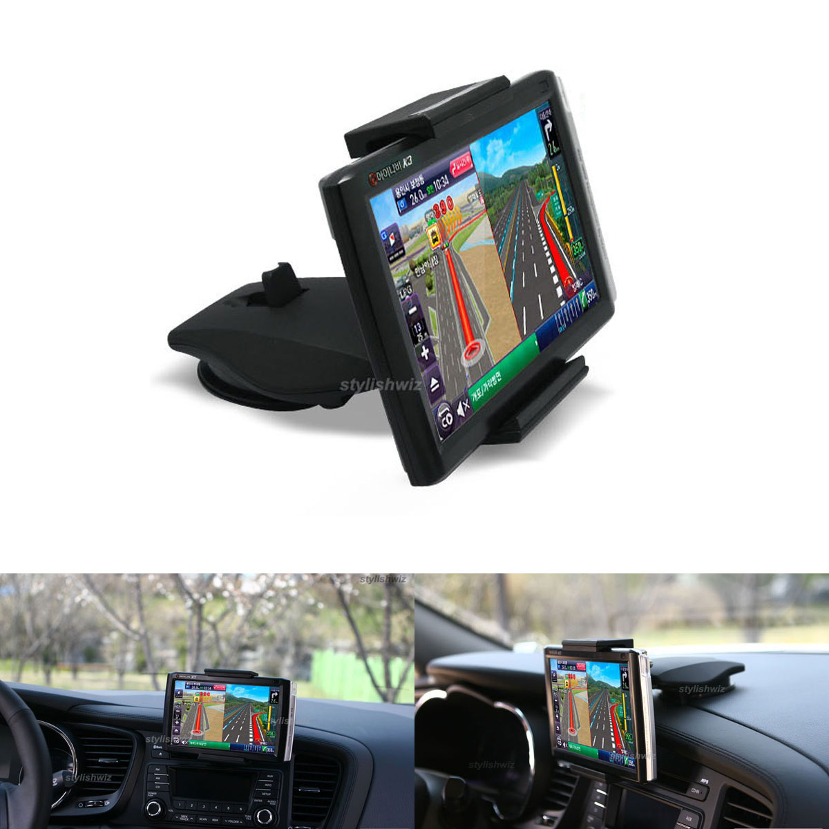Xenomix 7 Nevigation Smartphone Kendaraan Mounts Cradle Car Mount Galaxy Series