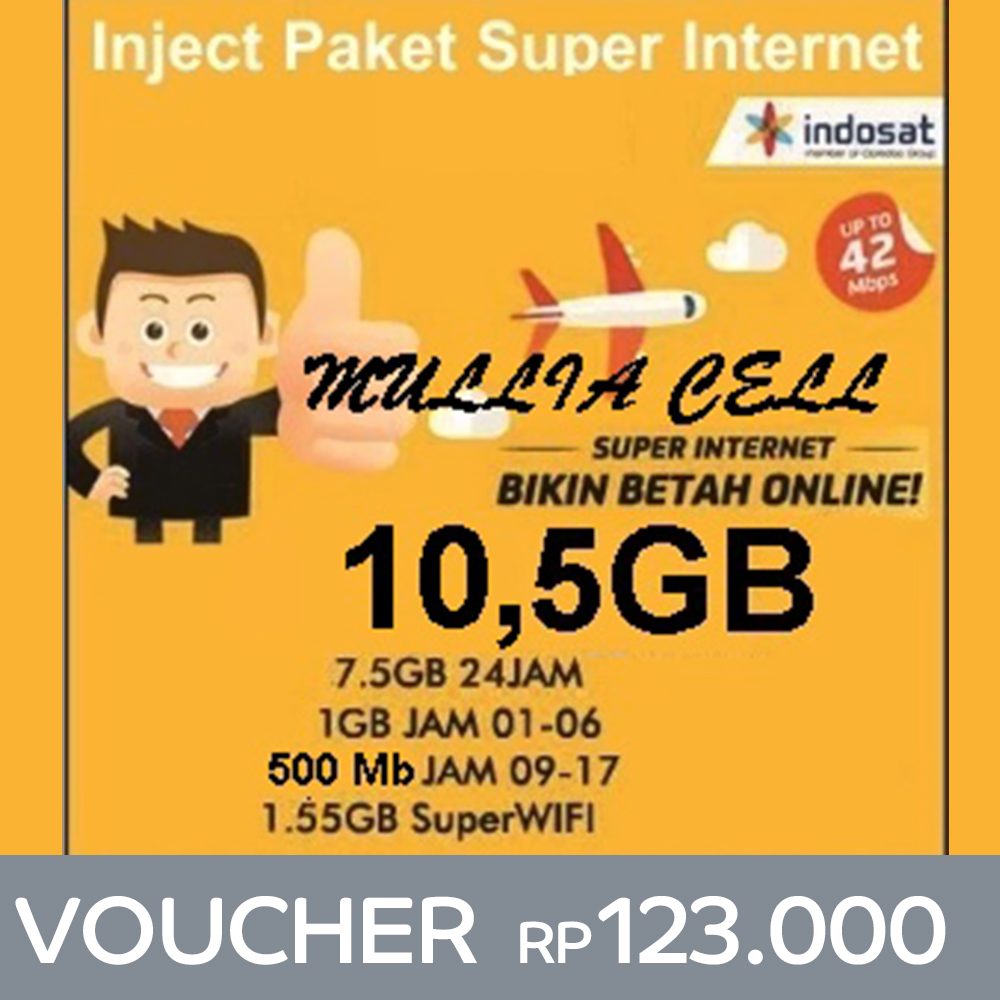 Jual Paket Internet Indosat Terlengkap Elevenia Yellow 1gb 1hari Ter 9gb 3gb 6gb Time Based Super Data Baca