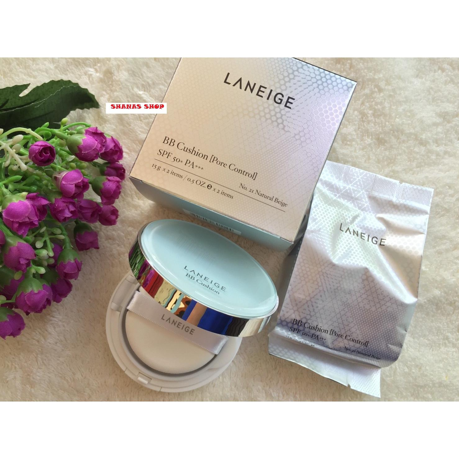 Laneige Bb Cushion Pore Control Spf 50 23 Sand Beige Elevenia No 3 Dus Putih Bioaqua Cream Air