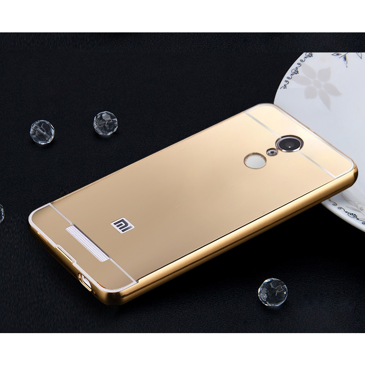 Aluminium Bumper With Pc Back Cover For Xiaomi Redmi Note 3 / Note 3 Pro (