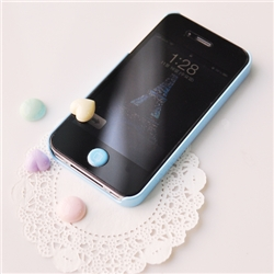 Iphone Home Button Sticker Manyong Ver2 Epoxy Sticker