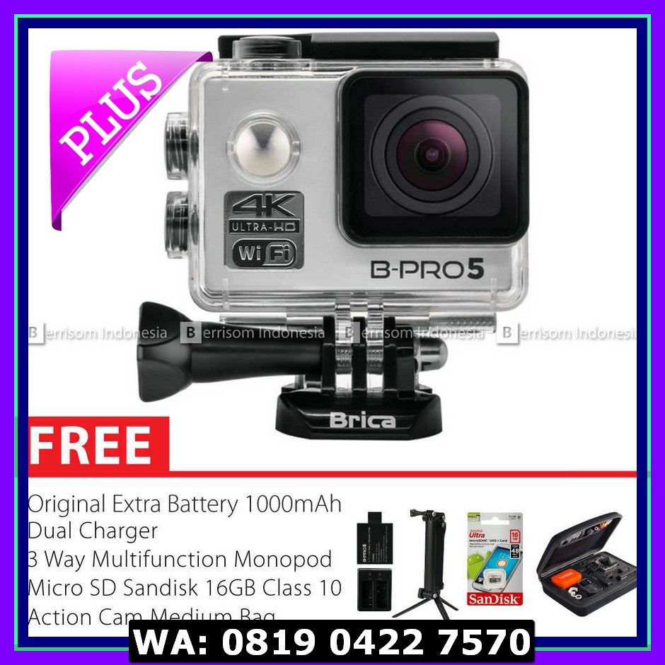 Brica B Pro5 Alpha Plus 16mp Wifi Action Camera Silver Page 2 Obral New Pro 5