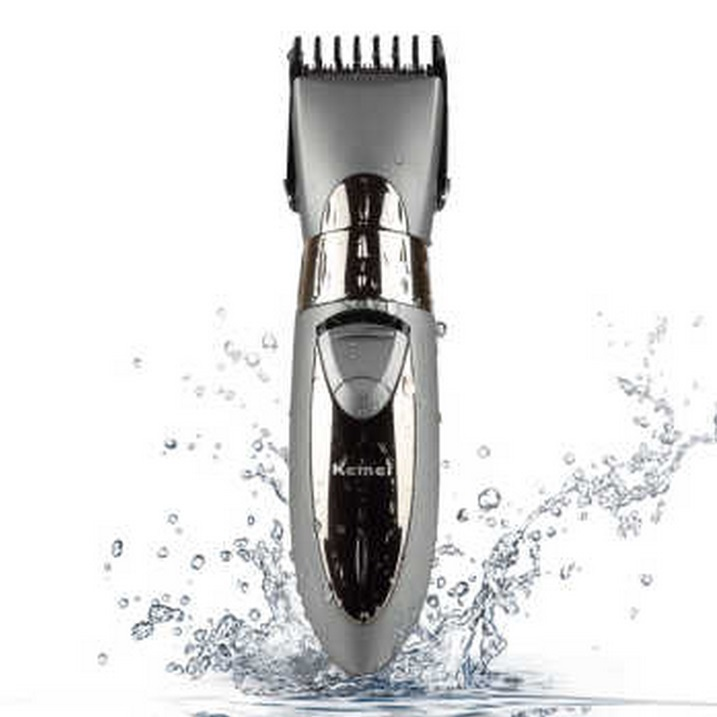 Mesin cukur Kemei km-605 Rechargeable Hair Clipper Waterproof f22706f0fe