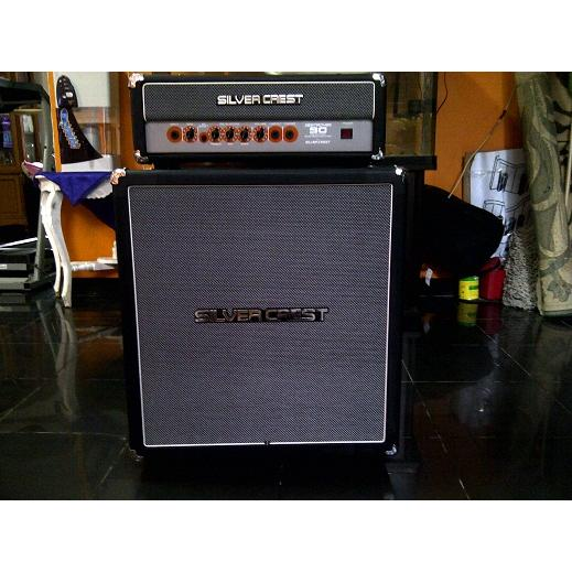 Ampli Bass Head Cabinet Silver Crest Destroyer 90