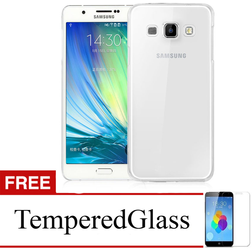Case For Samsung Galaxy J2 Prime - Clear + Gratis Tempered Glass - Ultra Thin Soft