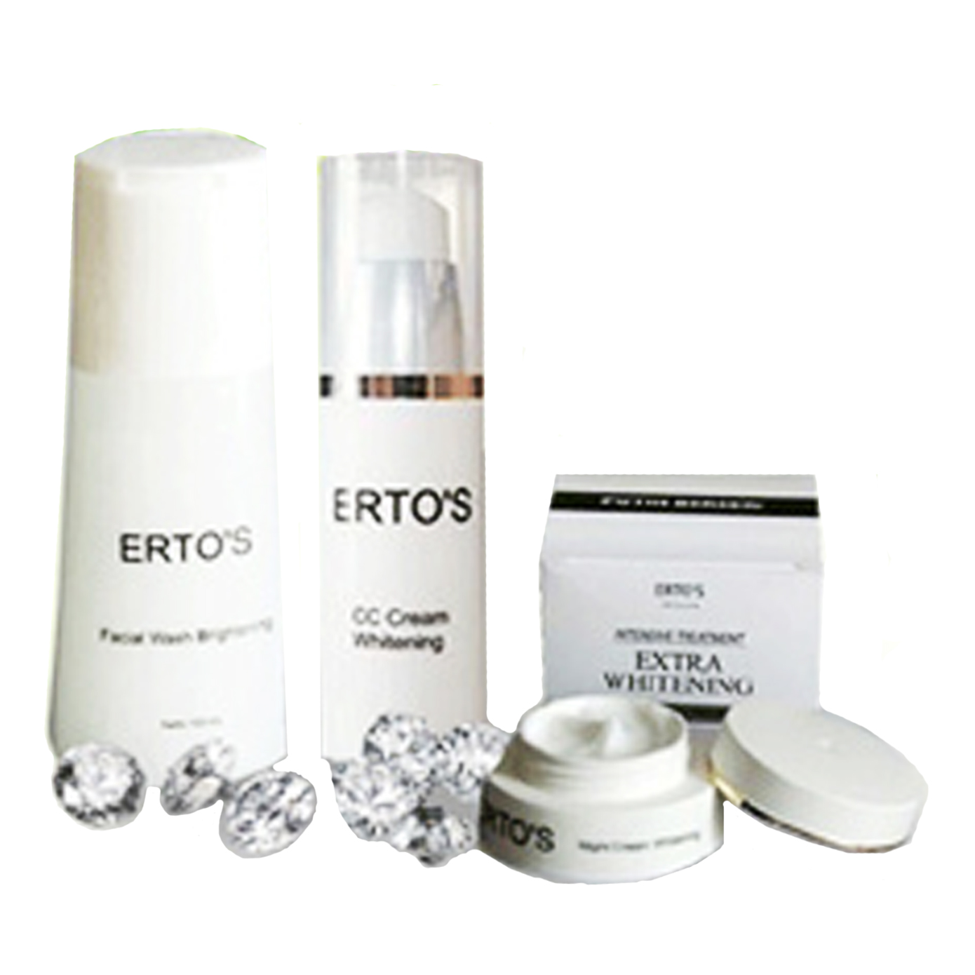 Ertos Serum Kinclong Anti Aging Pencerah Wajah Bpom Elevenia Night Cream 3pcs Paket Lengkap Cc Day Facial Wash