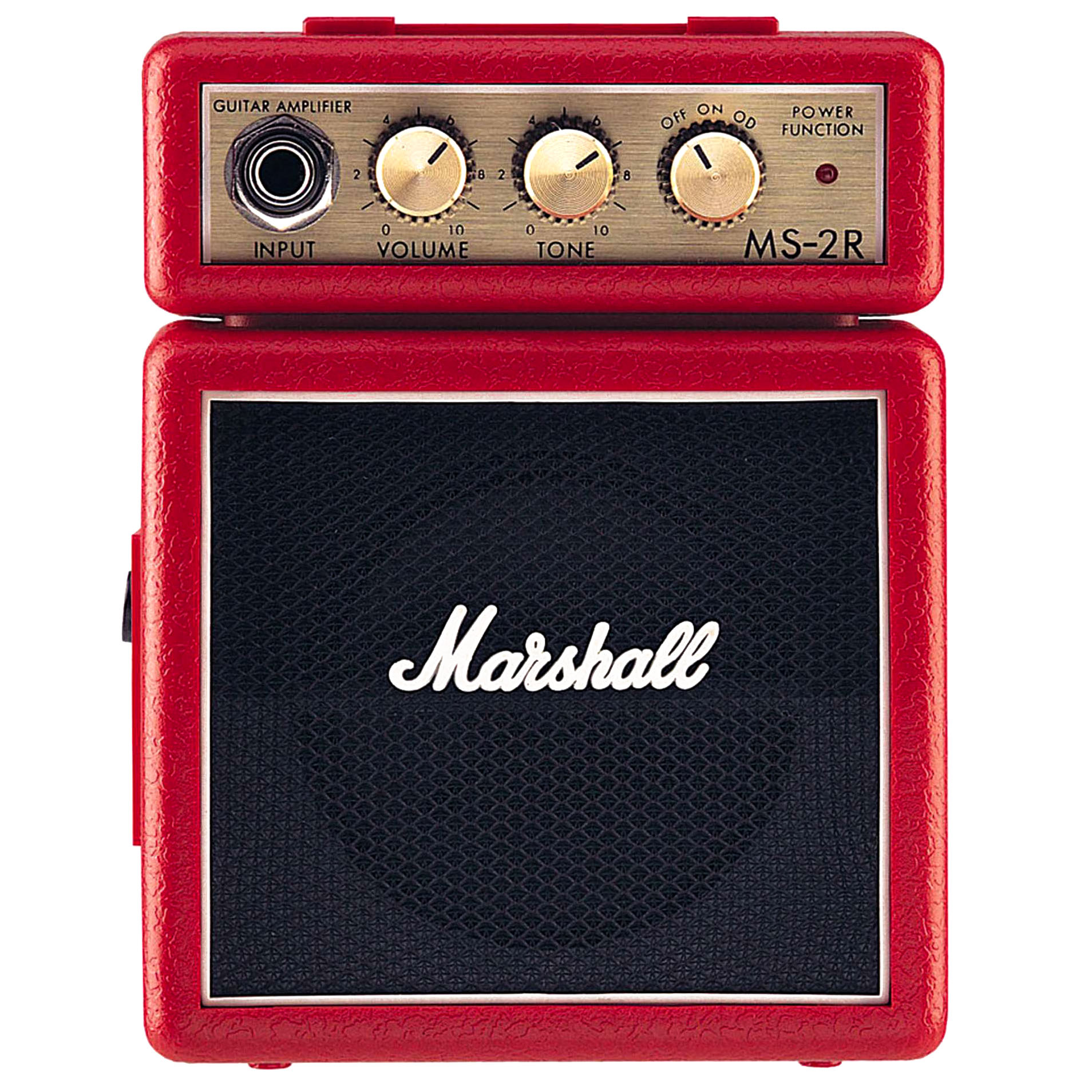 Marshall Ms-2r Micro Guitar Amplifier Red
