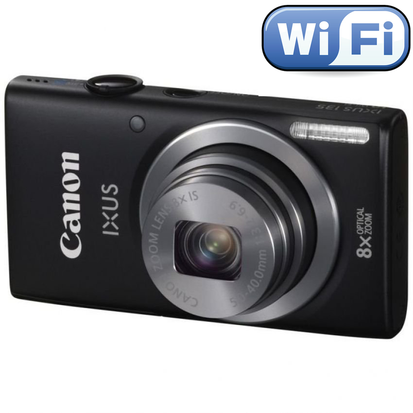 Canon Ixus 135 Wifi - 16 Mp 8x Optical Zoom