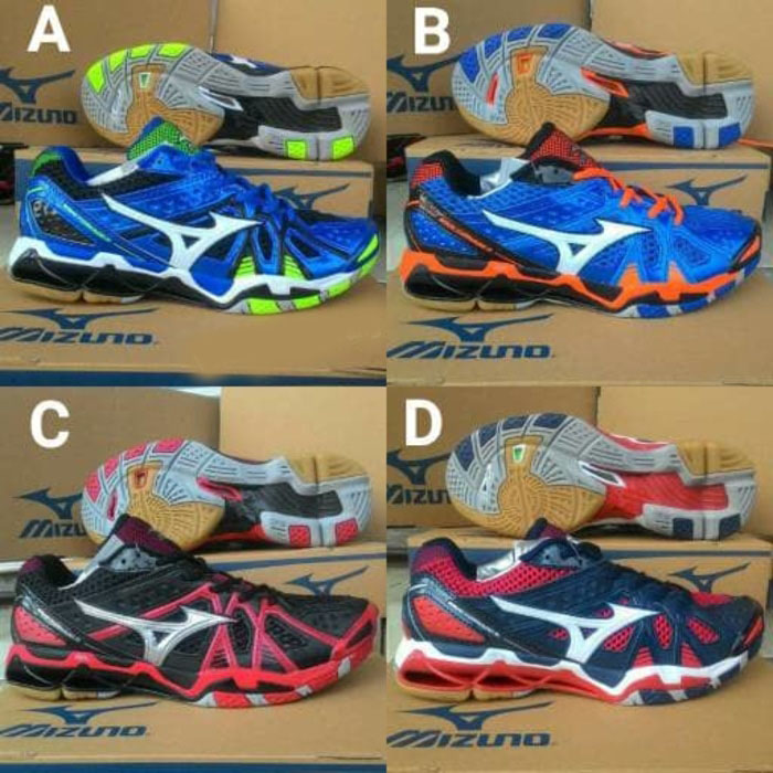 Sepatu Volley Mizuno Wave Tornado 9 Low Premium ! dfe74d342a