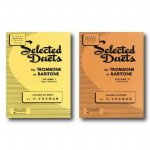 Rubank Educational Library Selected Duets for Trombone or Baritone, Includes 2 Books, Volume 1 an...