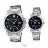 Jam Tangan Casio Couple Original 1215a-1a Harga Sepasang Jam Couple ... dbbfd66c89